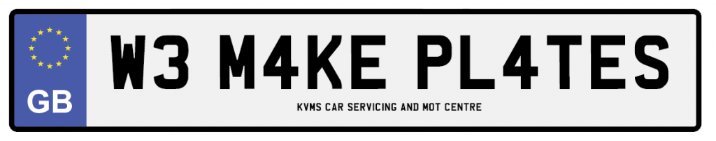chester car service number plates